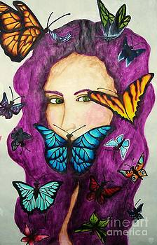 Butterfly Collector by Kaila Hernandez