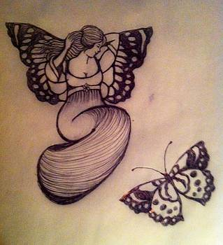 Butterfly Fairy by Mary Clare Castor