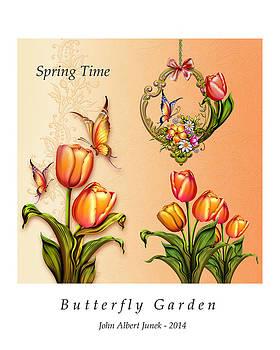 Butterfly Garden by John Junek
