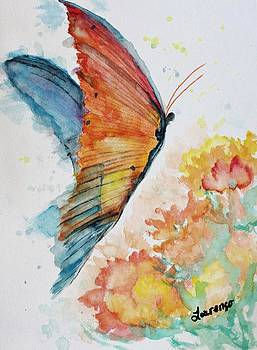 Butterfly by Julie Lourenco