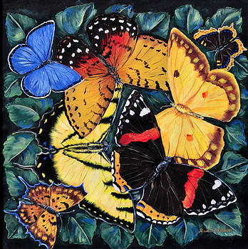 Butterfly Kisses by Gail Butler