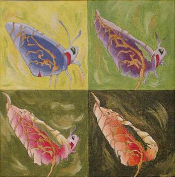 Butterfly Leaf by Claudia Stewart