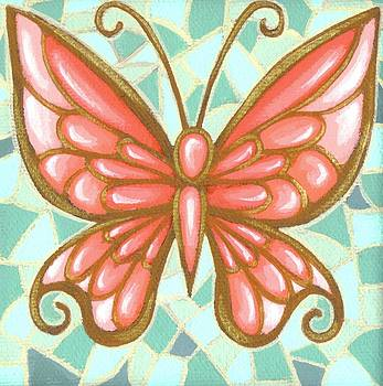 Butterfly Mosaic by Elaina  Wagner