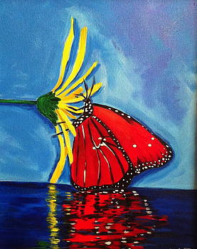 Butterfly Reflection by Tracey Bautista