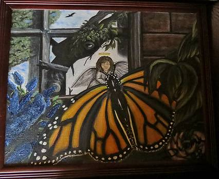 Butterfly reflections by Diane Mitchell