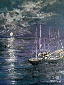 By the Light of the Silvery Moon by Rhonda Lee