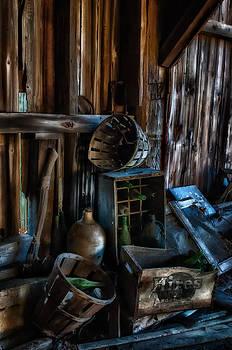 Thomas Schoeller - Bygone Era - Barn interior details