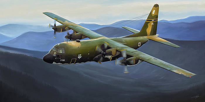 Dale Jackson - C-130E Hercules