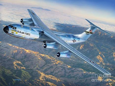 Stu Shepherd - C-141 Starlifter The Golden Bear