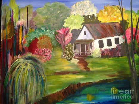 Cabin in Harbour Country by Phyllis Norris