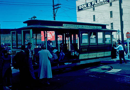Cable Car 1955 by Cumberland Warden