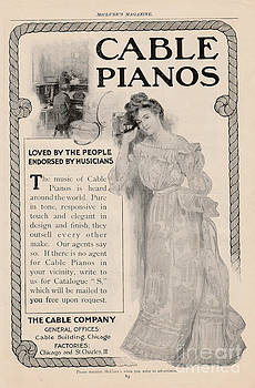 Cable Piano Ad by Paula Talbert