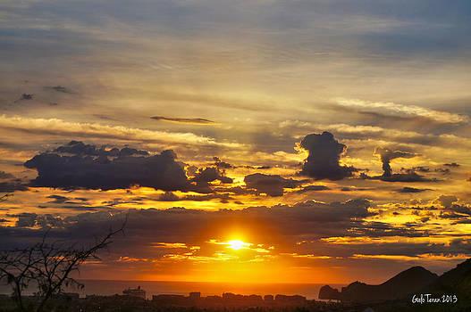 Cabo sunrise by Galo Teran