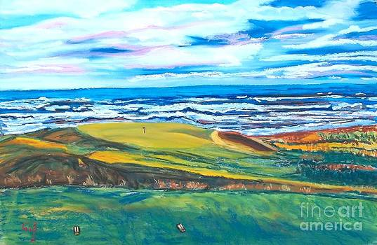 Cabot Links Hole 14 by Frank Giordano