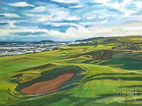 Cabot Links Hole 16 by Frank Giordano