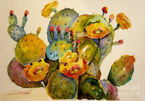 Cactus Flower by Delilah  Smith