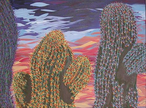 Marcia Weller - Cactus of Color 1