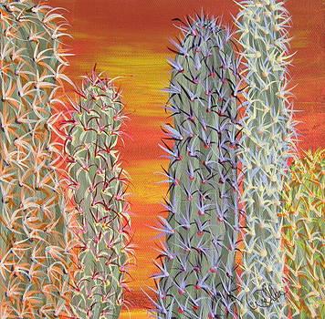 Marcia Weller - Cactus of Color 12