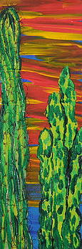 Marcia Weller - Cactus of Color 14