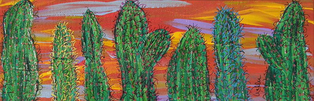 Marcia Weller - Cactus of Color 17