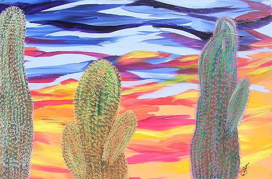 Marcia Weller-Wenbert - Cactus of Color 21