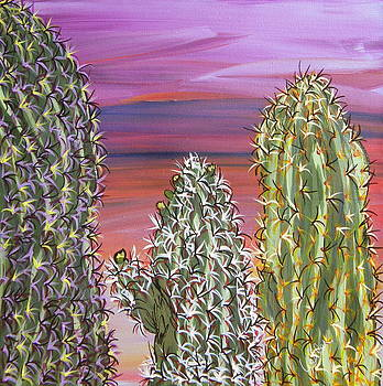 Marcia Weller - Cactus of Color 6