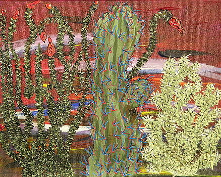 Marcia Weller - Cactus of Color 9