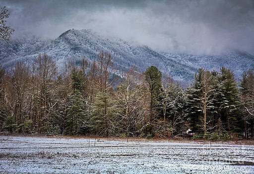 Cades Cove Snow III by Douglas Stucky