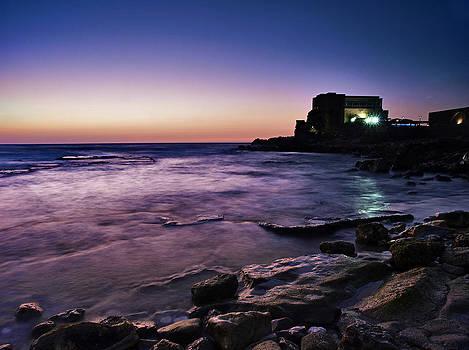 Caesarea  by Meir Ezrachi