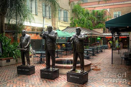 Cafe Beignets - Bourbon Street by Timothy Lowry