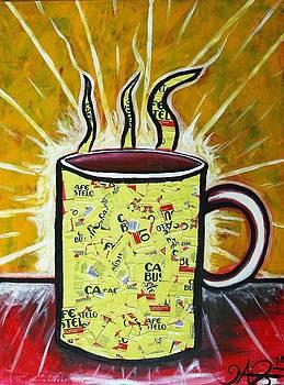 Cafe Con Leche by Jose A Gonzalez