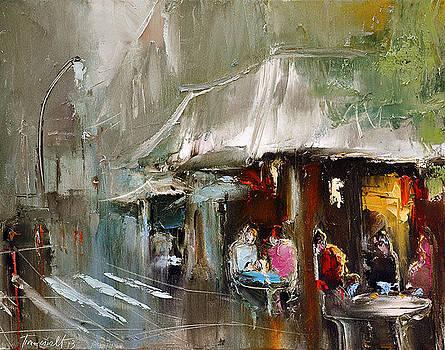 Cafe de Flore by David Figielek