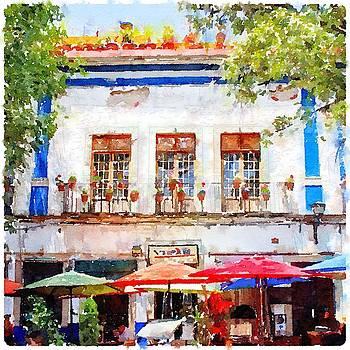 Cafe en Guanajuato by Matthew Green