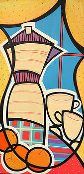 Cafe by Mary Tere Perez