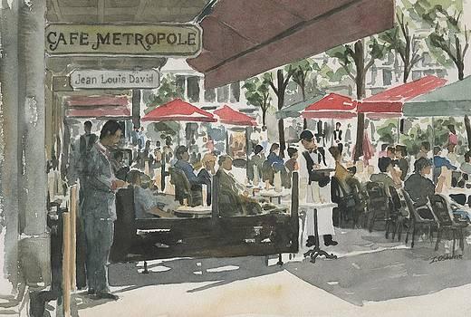Cafe Metropole by Ian Osborne