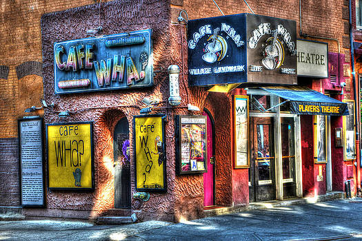 Cafe Wha? by Randy Aveille