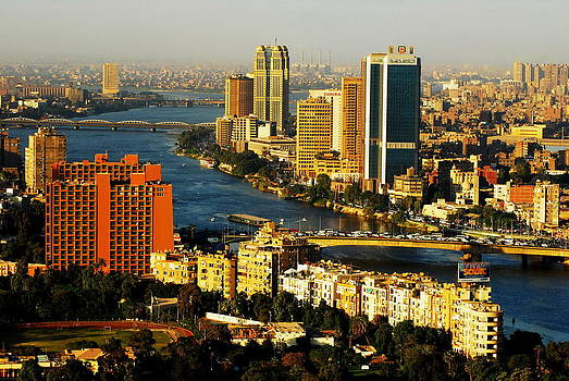Cairo from above by Chaza Abou El Khair