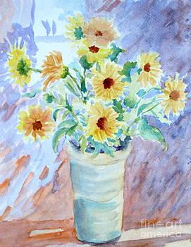 Calendulas by Bernice Grundy