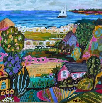 California Coastal by Karen Fields