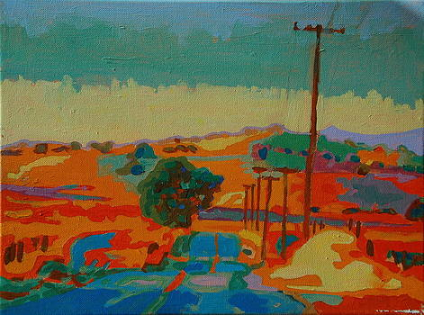 California Hills at Sunset 1 by Thomas Bertram POOLE