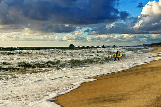 California's Stormy Surf  by Donna Pagakis