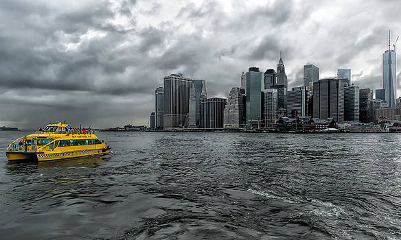 Call a Cab Anywhere In New York by Linda Karlin
