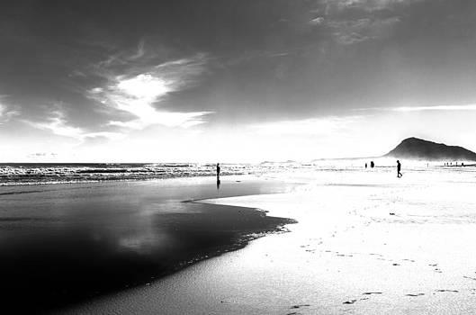 Calm Beach by Herbert Seiffert