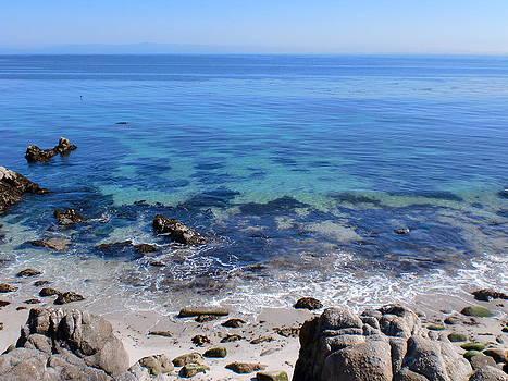 Calm Blue Ocean by Keeza Starr