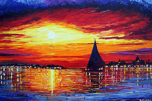 Calm Sunset by Pawel Przemyslaw Pyrka