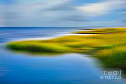 Dan Carmichael - Calm Waters - a Tranquil Moments Landscape
