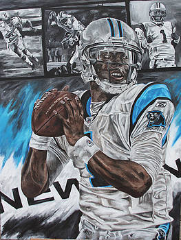 Cam Newton by David Courson