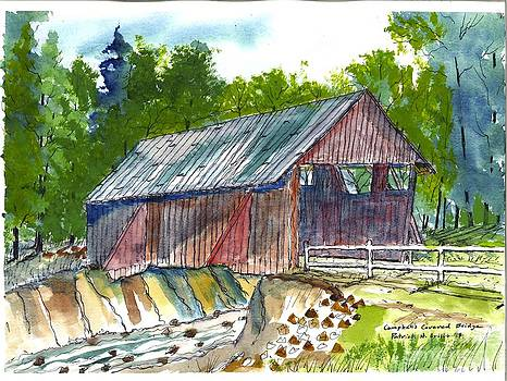 Cambell's Covered Bridge by Patrick Grills