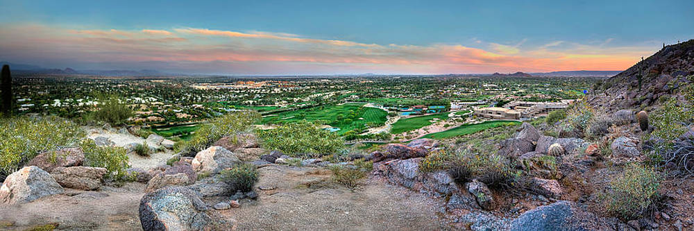 Camel Back Mountain Panoramic by Jenny Ellen Photography