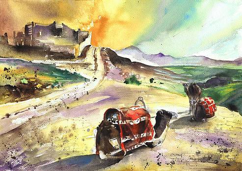Miki De Goodaboom - Camels in Morroco
